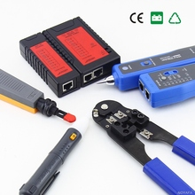 Network Lan Toolkit Network Cable Computer RJ45 RJ11 Cable Tester Diagnostic Tool Kit NF1107(China)