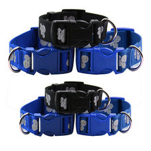 Pet Collar Adjustable Buckle Dog Collars Pet Cat Puppy Nylon Reflective Collar Neck Buckle