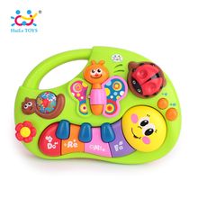 HUILE TOYS 927 Baby Toys Learning Machine Toy with Lights & Music & Learning Stories Toy Musical Instrument for Toddler 6 month+(China)