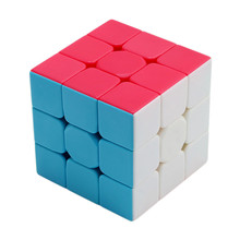 Colorful 3x3x3 Three Layers Magic Cube Profissional Competition Kids Puzzles Magic Cube Cool Educational Children Adult Toys Boy