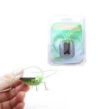Children Kids Fashion Educational Toys Cool Funny Grasshopper Model Solar Toys