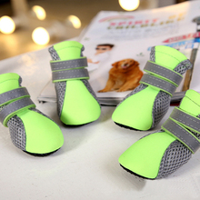 Dog Pet Shoes Cat Puppy Shoes Anti-slip Waterproof Protective Special Boots Shoes For Small Dogs dog shoes Candy Colors(China)