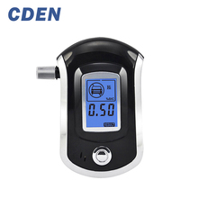 Professional Alcohol Tester Police Digital Breath Quick Response Breathalyzer LCD for the Drunk Drivers AT-6000(China)