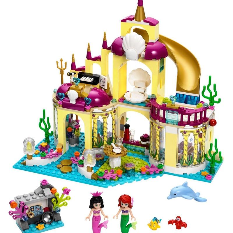 Girl-Castle-Series-Friends-Princess-Undersea-Palace-Set-Building-Bricks-Blocks-Children-LegoINGlys-Toys-10436-Christmas (3)_