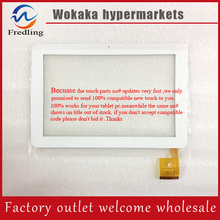 "Free shipping White 10.1"" Ampe A10 Sanei N10 tablet Capacitive touch panel digitizer glass TPC0323 VER1.0 256X172mm(China)"