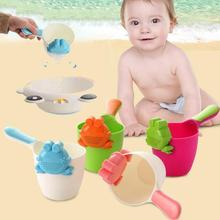 Buy Baby bath product Infant children shower toys Shampoo Shower Tool Kids Hair Washing Eye Shield Shampoo Cup Rinser Gift D3 for $3.67 in AliExpress store