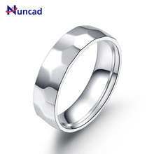 Hot High Polished Stainless Steel Football Patterns Mens Rings men jewelry anillos mujer bague homme Power Party jewellery(China)
