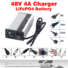 48V 4A LiFePO4 Battery Charger ouput 58.4V 4A Hight Power Smart Charger For 16S 51.2V LiFePO4 batteries charging(China)