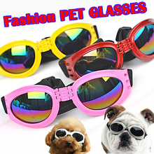 Outdoor sport black small dog cat eye sunglasses goggles glasses decor pet product for dogs cats accessories sun glassess(China)