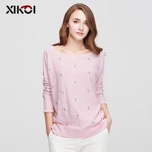 XIKOI New Design Women's Sweaters Fashion Batwing Sleeve Animal O-Neck Pullovers Computer Flat Knitted Women Sweater  hxss16078