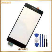 briseis Black touch screen digitizer touch panel touchscreen For LENOVO Vibe X2 touch sensor screen with adhensive free shipping(China)