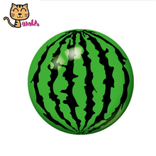 Kids Ball Toy 16CM Children Float Summer Pool Beach Ball Children Beach Summer Party Inflatable PVC Watermelon Ball Toy