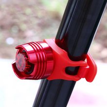 LED Waterproof Bikes Bicycle Cycling Front Rear Tail Helmet Red Flash Lights Safety Warning Lamp Cycling Safety Caution Light