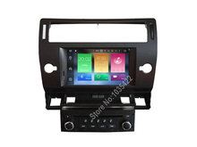 Android 6.0 CAR Audio DVD player FOR CITROEN C4 (2004-2012) gps Multimedia head device unit receiver BT WIFI(China)