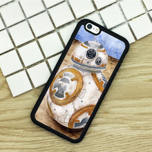 soft TPU Phone Cases For iPhone 6 6S 7 Plus 5 5S 5C SE 4 4S ipod touch 4 5 6 Cover Shell BB8 Star Wars Painted Art Amazing Droid