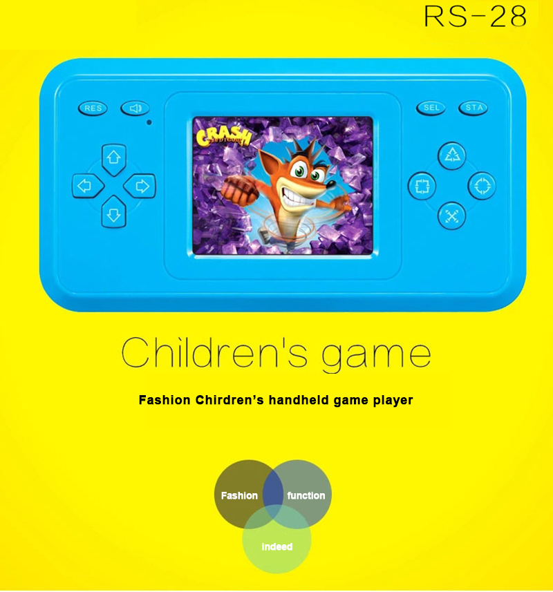 Portable Handheld Gaming Player Vedio Game Console Child Kids Boy Built-in 298 Games Classic Retro Games Color Screen Consoles