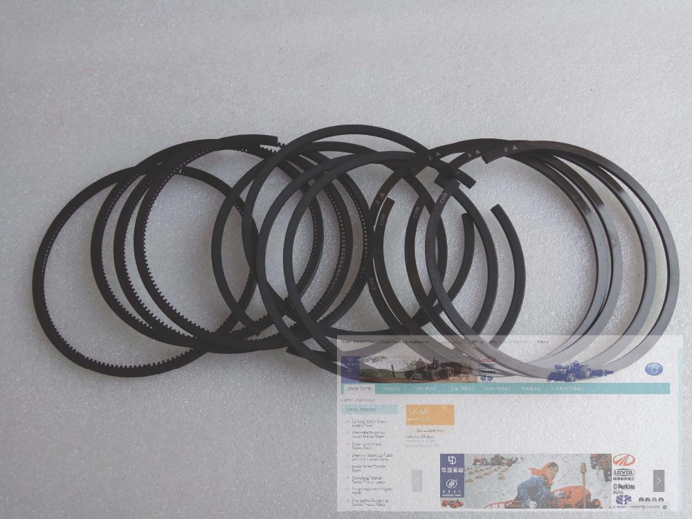 XINCHAI A498BT for tractor, harvester like Foton, Jinma, the set of piston rings for one engine, part number: A498B-04100-1  <br>