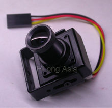 "FPV 600TVL 1/4"" CMOS Pixelplus PC7030 image sensor 2.8mm LEN mini block for CCTV camera FPV Drone RC Quadcopter Photography(China)"