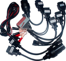 Promotion price ! Cables For CDP Pro OBDII Cars Diagnostic Interface Tool For delphi Full set 8pcs Car Cables(China)