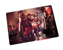 team fortress 2 mouse pad gear Halloween Gift game pad to mouse notebook computer mouse mat brand gaming mousepad gamer laptop(China)