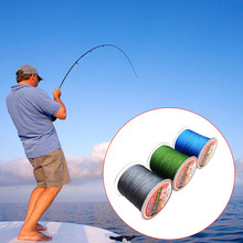 Fishing Pesca Accessories HorseWholesale 4 Series Of Single Color 300 Meters PELine Weaving Road(China)