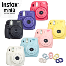 100% Genuine Fuji Mini 8 Camera Fujifilm Instax Mini 8 Instant Film Photo Camera New 6 Colors Available + Free close up Lens(Hong Kong)