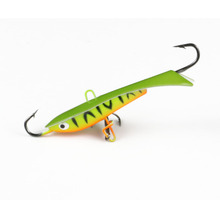 1Pcs Vertical Jigging Bait Winter Ice Fishing Lure Lead Fish Bait Fishing Hook Muskie Fish Balance Jigs 6cm 9.2g(China)