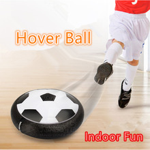 2016 New Hover UFO ball Indoor Fun Football Float like Magic Soccerball LED Sport game Toys Birthday Christmas gift for kids