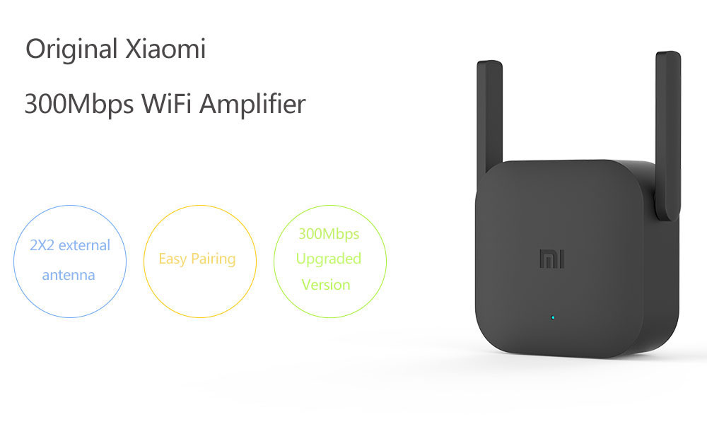 Original Xiaomi Pro 300M WiFi Router Amplifier Repeater Signal Cover Extender Roteador 2 Wireless Router Repetidor Mi repeater (1)