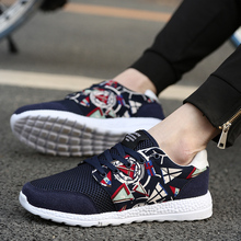 Men Sneakers 2017 Summer New Arrival Lightweight Mesh Breathable Outdoor Men Walking Shoes Brand Sports Shoes