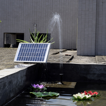 Garden Solor Power Plants Sun Plants Watering Solar Power Water Pump Power Panel Kit Fountain Pool Garden Pond Square 380L/H 5W(China)