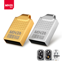 High Quliaty Brand MIXZA Mini USB Flash Drive 64GB 32GB 16GB 8GB 4GB Memory Stick Waterproof Metal Tiny Pen Drive Disk U Disk