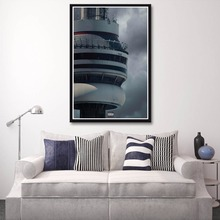 X021 Drake Views New Album Rap Music Hotline Bling Cover A4 Art Print Poster Silk Light Canvas Painting Home Decor Wall Picture(China)