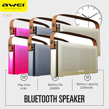 AWEI Bluethooth Blue Tooth Mp3 Blutooth Sound Music Mini Wireless Portable Bluetooth Speaker For Phone PC Player Hoparlor Box(China)
