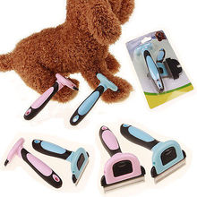 Cat Dog Pet Hair Remover Shedding Grooming Brush Comb Vacuum Cleaner Trimmer Pet hair comb