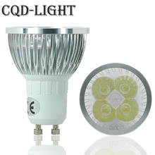 Super Bright 9W 12W 15W GU10 LED Bulb 110V 220V Led Spotlights Warm/Natural/Cool White GU10 LED lamp New(China)