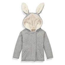Soft Thicken Baby Outerwear Baby Boys Warm Coat Baby Girls Winter Jacket Kids 2016 New Cute Top Clothes(China)