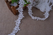 70yard Venise/Venice Lace Victorian ROUND Lace Fringe Trim,wide3.5cm diy crafted sewing(China)