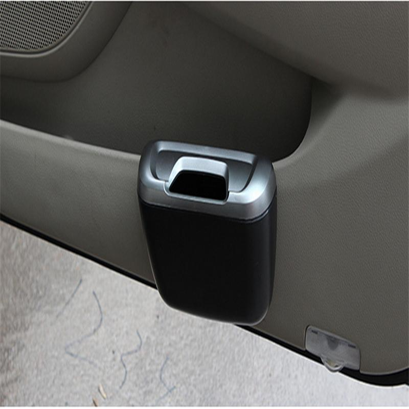 Terrific 2015 new mini car door trim trash cargo truck cans seat dust container box free shipping(China (Mainland))
