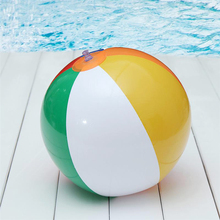 CCINEE 40CM Colorful Inflatable Beach Balls Rubber Children Toy Ball For Kids Outdoor Games Beach Sport Ball Toys Summer Beach