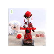 Features Chinese Costumes Qing Palace Dolls Exquisite Arts And Crafts Dolls Quality Qingge Princess Silk Wholesale Lirenpifa(China)
