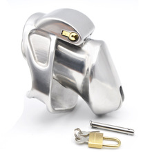 Buy 2 Magic Locks Short Size Male Stainless Steel Chastity Device,Cock Cages,Virginity/Chastity Lock/Belt,Penis Ring,Adult Game,A337