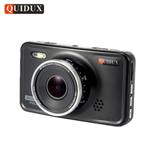 QUIDUX 3.0 inch Car DVR Full HD 1080P Novatek Infrared Night Vision WDR Video Registrator Cycle Recording Motion Detect G-Sensor(China)