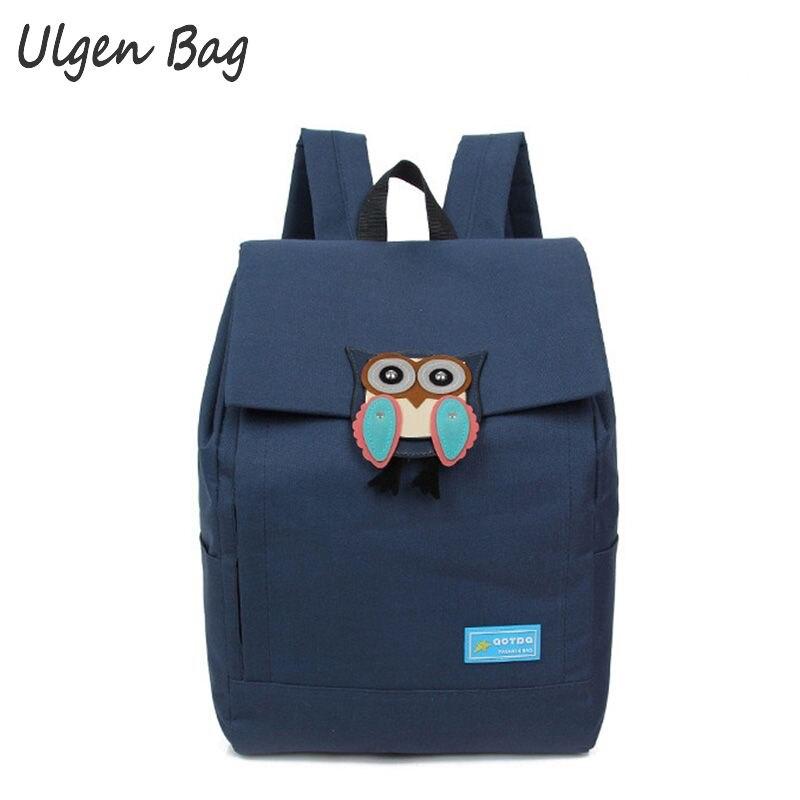 Newest Stylish Cute Women Backpack Owl Backpacks Female Women shoulder bag school bags for teenage girls<br><br>Aliexpress