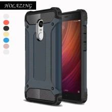 HOLAZING Armor Anti-Knock Full Body Heavy Duty Shock Protection Case for Xiaomi Redmi Note 4X/Redmi Note 4 Global Hybrid Cover(China)