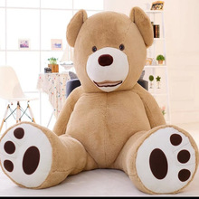 2017 1m 1.3m 1.6m 2m Size Huge Size Teddy Bear Fat Bear Plush Toy Christmas Gift Teddy Bear Doll Finished Stuffed Bear DOll(China)
