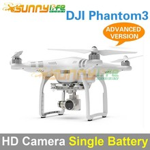 DJI Phantom 3 Four-axle Flyer HD High Definition Camera Quadcopter Advanced Version with Single Battery