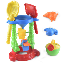 6Pieces/Set Beach Sand Toys Hourglass Bathing Water Seaside Summer Outdoor Baby Toy Children Gifts Play Game Sports Day Boy