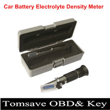Free shipping Three-in-one Car Battery Electric Density Meter Clectric Gravidness Suction Car Battery Hydrometer Tester
