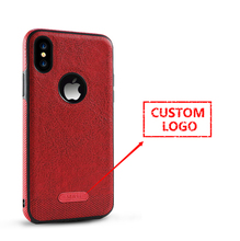 200 pcs Wholesale new arrival luxury leather case for iPhone 7s 7s plus 8 with custom logo with free shipping(China)